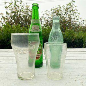 1920's/1940's Coca-Cola + Cola bottle collectables